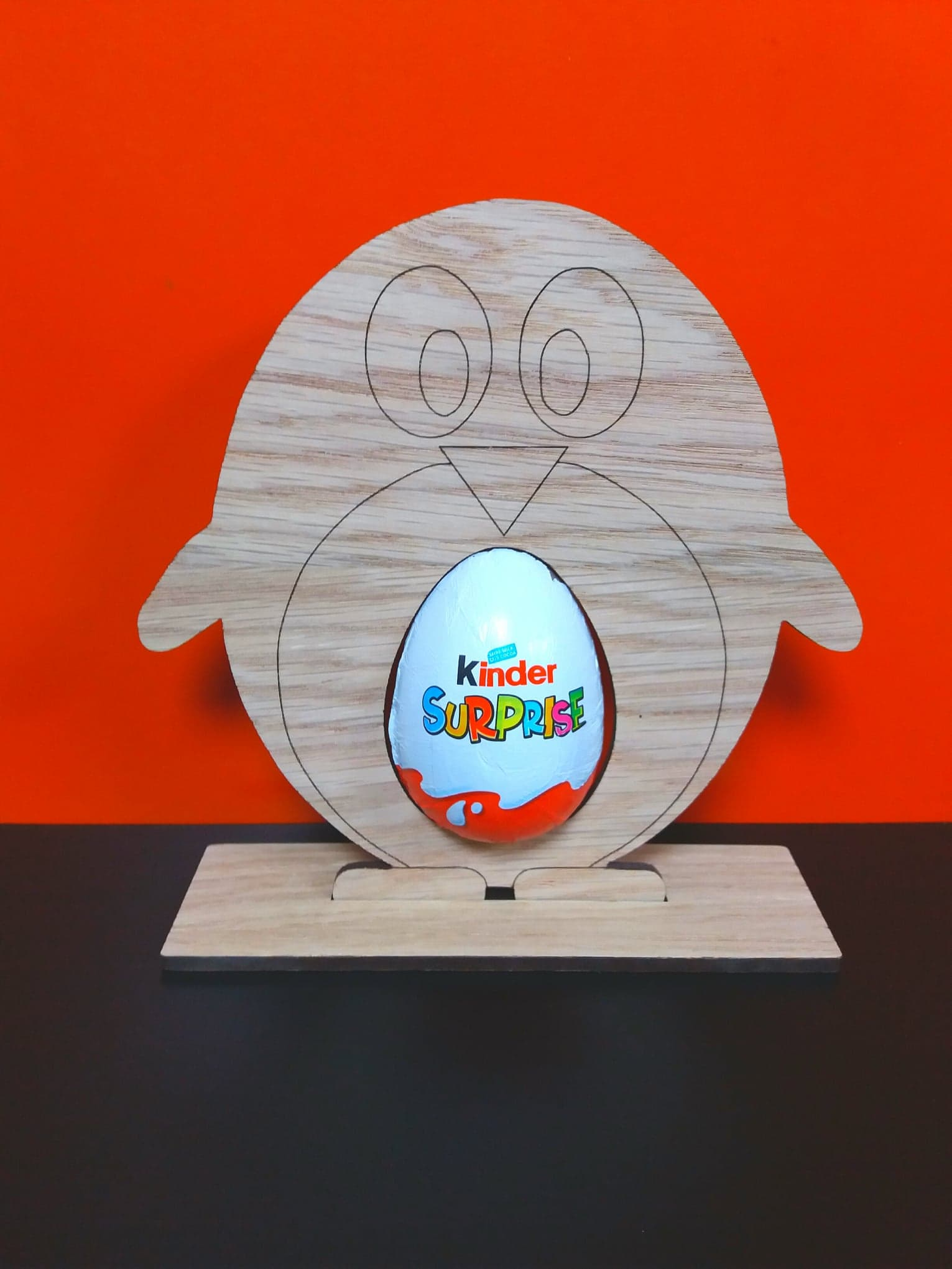 What Does Cnc Stand For >> Oak Veneer Penguin Kinder Egg Holder 15cm x 15cm (WC1113 ...