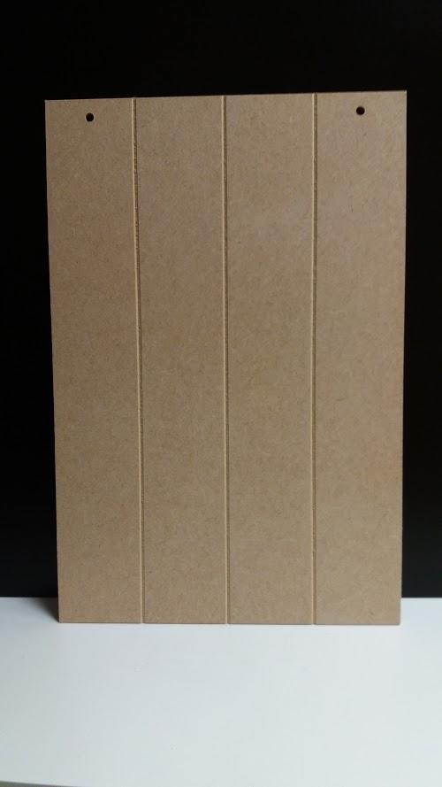 Wandplank 15 Cm.Small Plank Board 22 5cm X 15cm Portrait 2 Holes Woodform Crafts